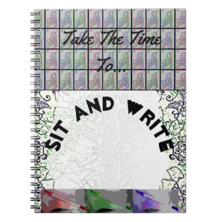 Sit and Write Notebook