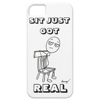 SIT JUST GOT REAL iPhone 5 Case