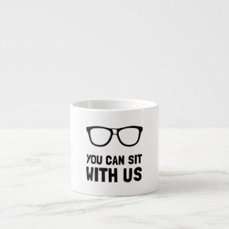 Sit With Us Espresso Mug
