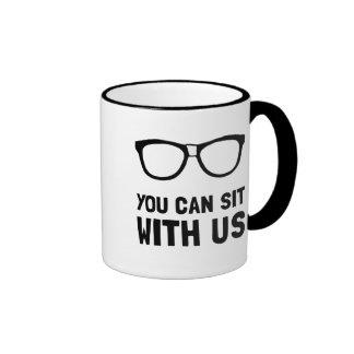 Sit With Us Ringer Mug