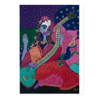 Sitar Postcard