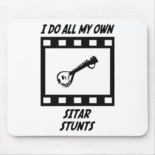 Sitar Stunts Mouse Pad