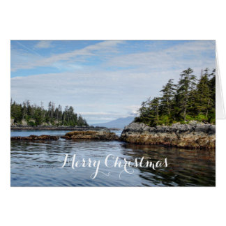 Sitka Islands Christmas Card