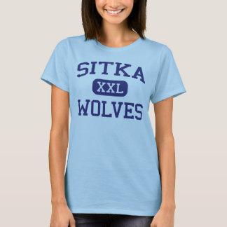 Sitka - Wolves - Sitka High School - Sitka Alaska T-Shirt
