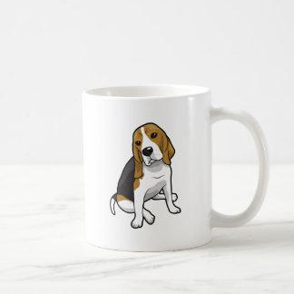 Sitting Beagle Coffee Mug
