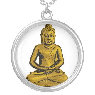 Sitting Buddha Necklace