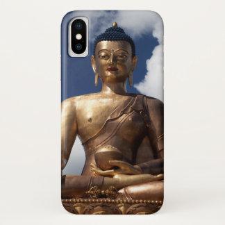 Sitting Buddha Statue iPhone X Case