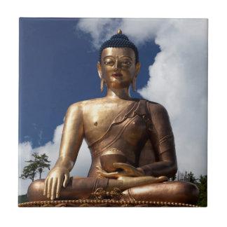 Sitting Buddha Statue Tile
