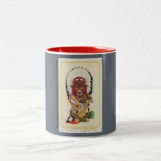 Sitting Bull 11 oz Two-Tone Mug