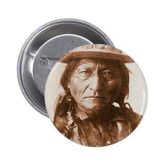 Sitting Bull 2 Inch Round Button