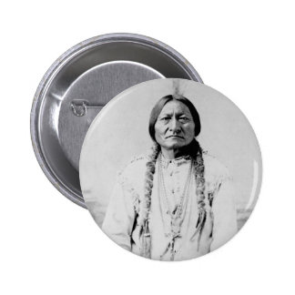Sitting Bull 2 Inch Round Button