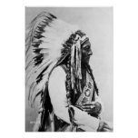 Sitting Bull, a Hunkpapa Sioux Posters