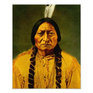 Sitting Bull Native American Indian Chief Photo Print