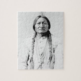 Sitting Bull Native American Jigsaw Puzzle