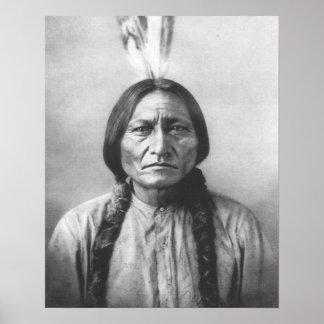 Sitting Bull Print