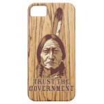 Sitting Bull Satire Phone Case Case For The iPhone 5