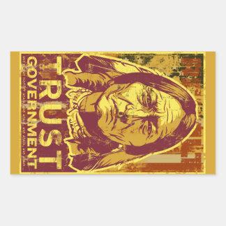 Sitting Bull Trust Government  Sticker Set