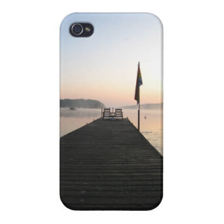 Sitting by the dock of the bay  - iphone Case Case For iPhone 4