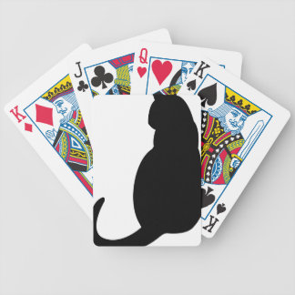 Sitting Cat Bicycle Playing Cards