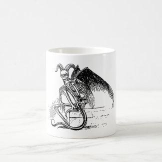 Sitting Demon Coffee Mug