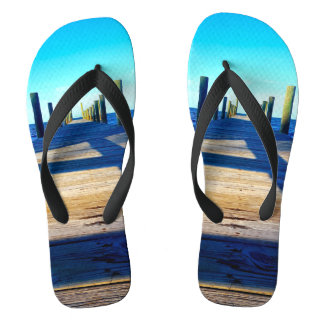 Sitting on the Dock of the Bay Flip Flops
