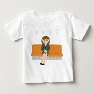 Sitting on the Subway Baby T-Shirt
