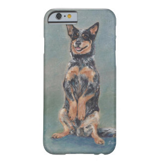 Sitting pretty cattle dog barely there iPhone 6 case