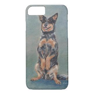 Sitting pretty cattle dog iPhone 7 case