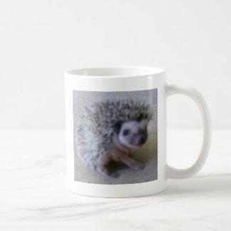 Sitting pretty hedgehog coffee mug