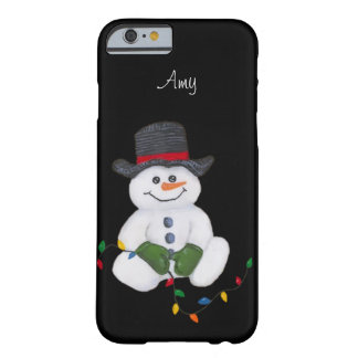 Sitting Snowman iPhone 6/6S case
