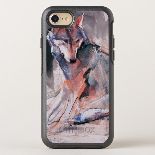 Sitting Wolf 2000 OtterBox Symmetry iPhone 8/7 Case
