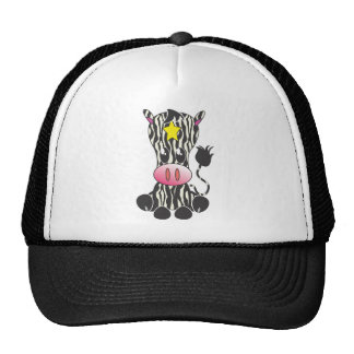 Sitting Zebra Hats