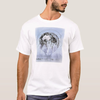 Sityscapes of NYC - Unisphere T-Shirt