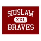 Siuslaw - Braves - Middle School - Florence Oregon Postcard