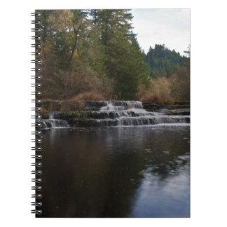 Siuslaw Falls Oregon Spiral Notebook