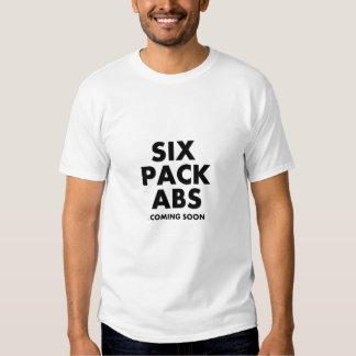 Six ABS de paquet venant bientôt Tshirts