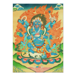 Six-Armed Mahakala Poster