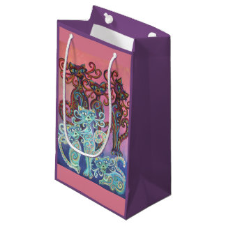 six cats gift bag
