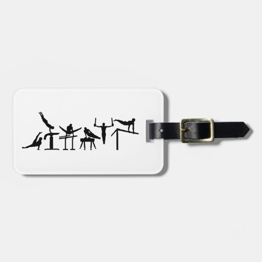 Six fight Hexathlon Luggage Tag