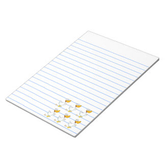 Six Geese a-Laying Notepad