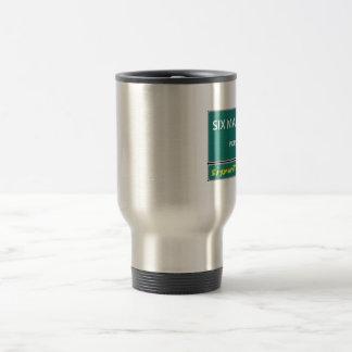Six Man Travel mug