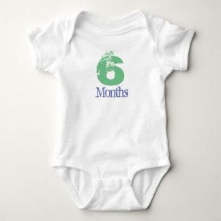 Six Month Body Suit Baby Bodysuit