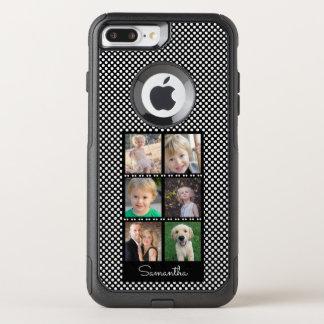 Six Photos Family Collage OtterBox Commuter iPhone 8 Plus/7 Plus Case