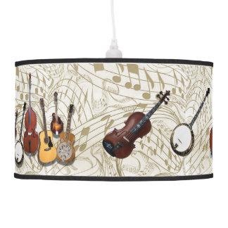 SIX PIECE BAND-LAMP PENDANT LAMP