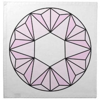 Six Pointed Star Gem2 Napkin