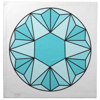 Six Pointed Star Gem3 Napkin