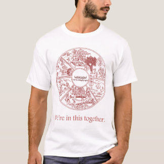 Six realms (Red) T-Shirt