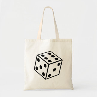 Six Sided Dice Tote Bag