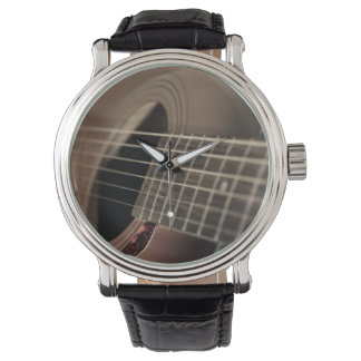 Six Sting Acoustic Guitar Watch