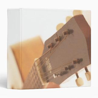Six String Guitar 3 Ring Binder